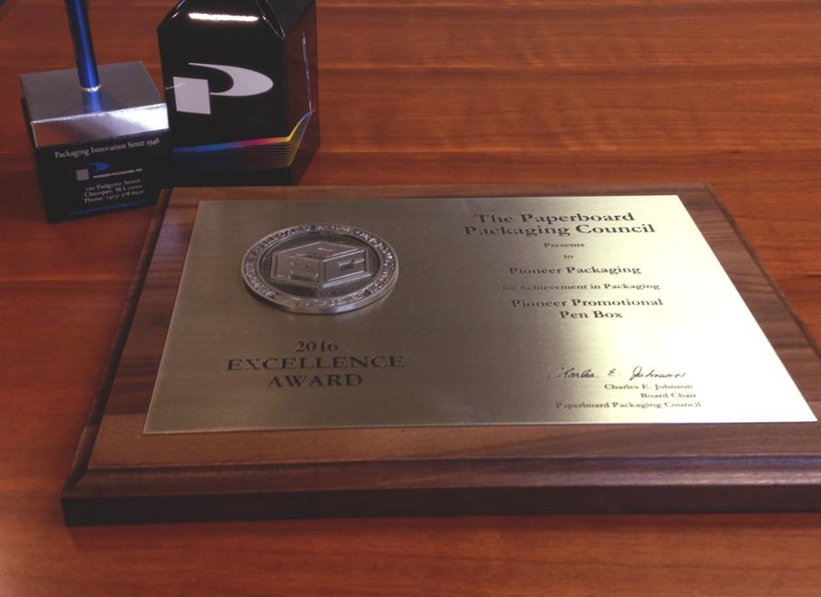 2016 Excellence Award
