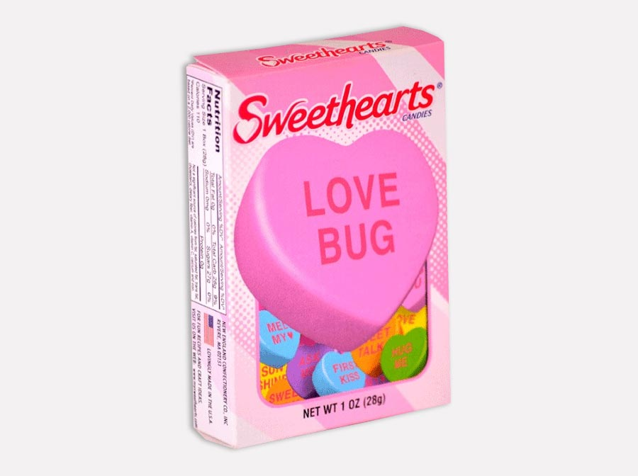 This is a photo of Folding Cartons Sweethearts